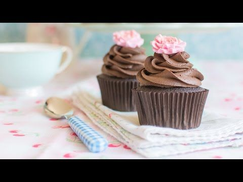 Cupcakes de chocolate - Receta - María Lunarillos | tienda & blog - YouTube