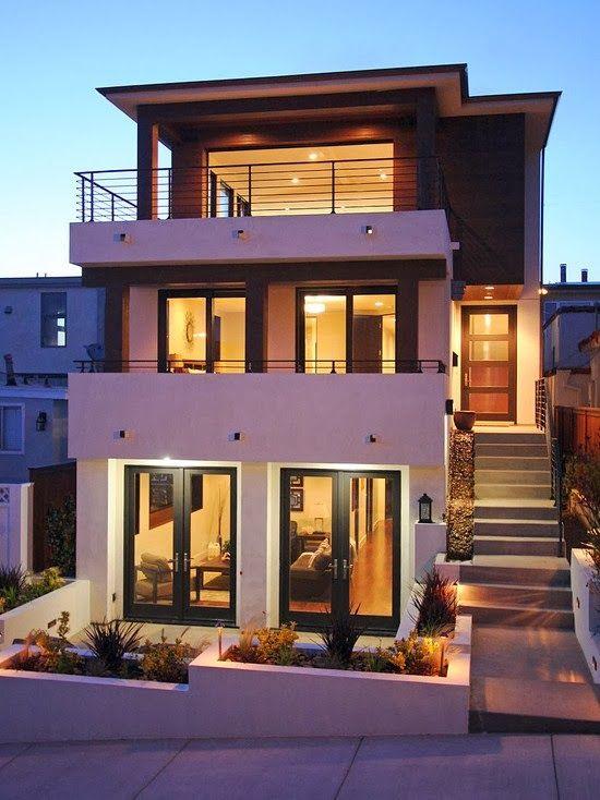Más de 1000 ideas sobre modelos de casas bonitas en pinterest ...
