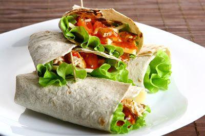 Recetas Saludables Para Cada Uno: Rollitos De Verduras Con Tortillas De Harina