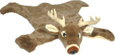 deer rug for a baby boys hunting theme nursery