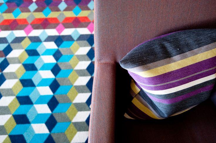 Prints & Patterns. Luxury Travel / Cowley Manor / Boutique Hotel / Beautiful Hotel / Interior Design
