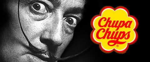 Salvador Dali, creator of the chupa chups logo