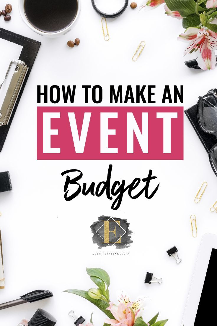 How to Make an Event Budget? #eventplanning #event