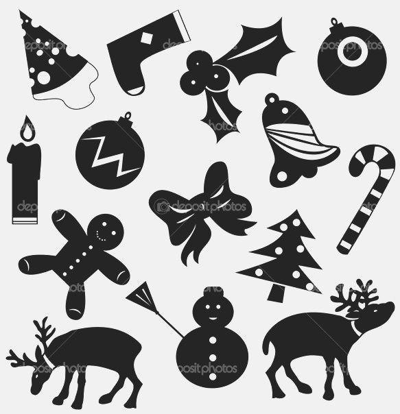 Вытынанки. Новогодние украшения. Украшения окон из бумаги. Новогодние трафареты. Трафарет козы новогодние украшения