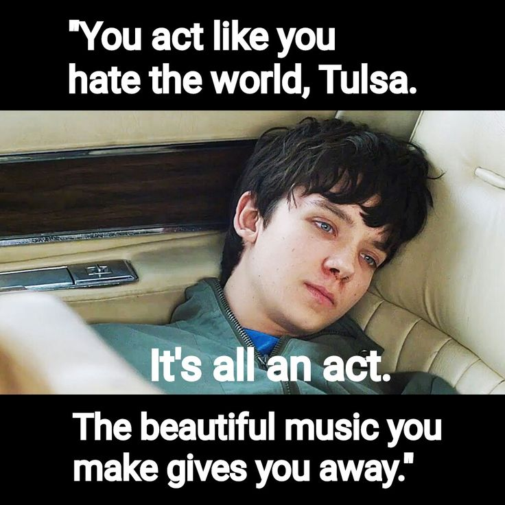 """The Space Between Us """"You act like you hate the world, Tulsa. It's all an act. The beautiful music you make gives you away."""""""