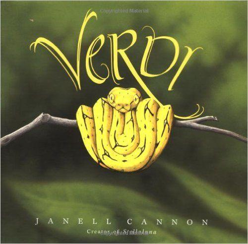 Verdi: Janell Cannon: 9780152010287: Amazon.com: Books