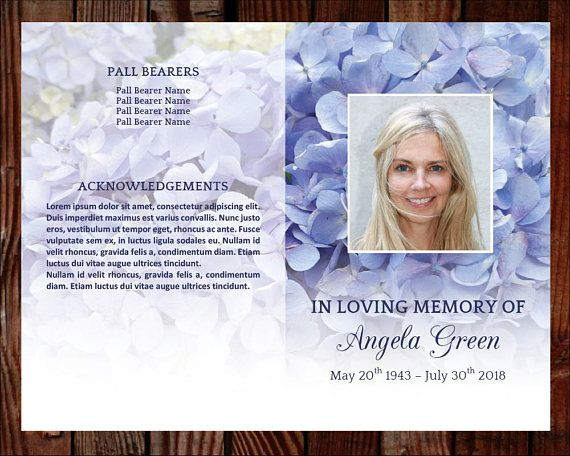 Best 25+ Memorial service program ideas on Pinterest Funeral - memorial service template word