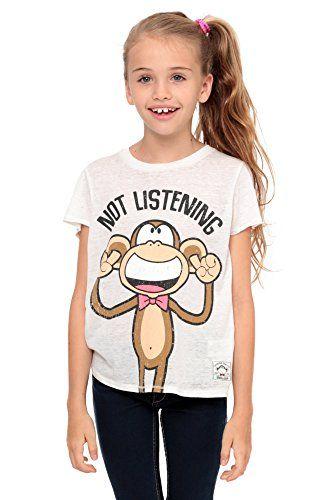 98a58bd1b Bobby Jack Not Listening - Crop Top - Ivory