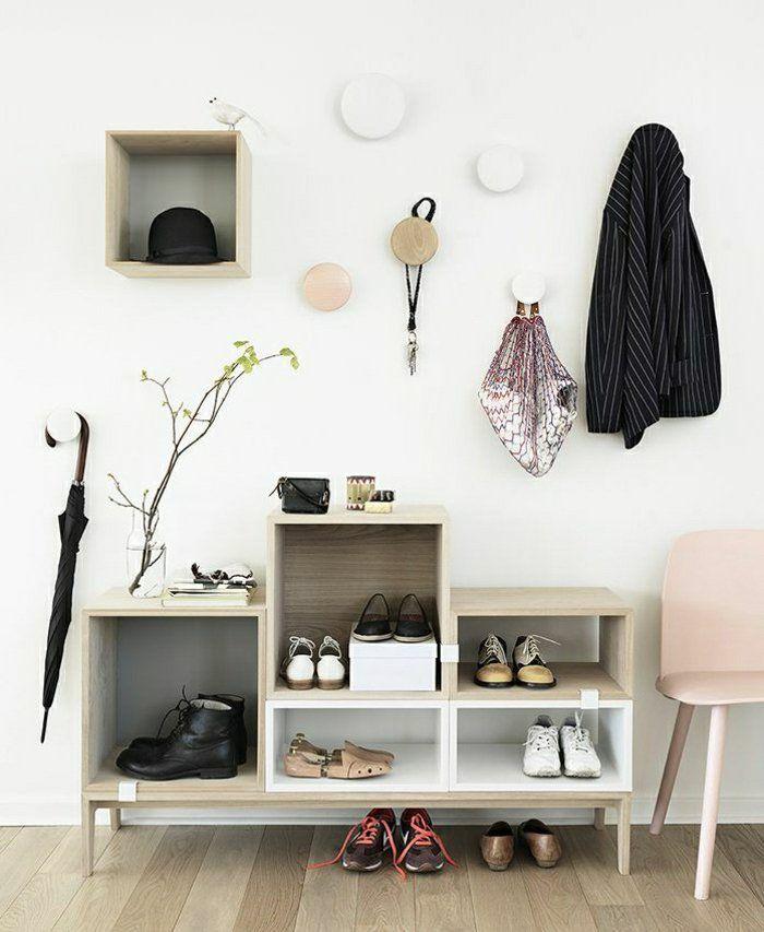 1000 id es sur le th me meuble chaussure ikea sur for Meuble mural couloir