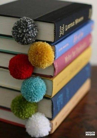 Pom Poms Bookmark
