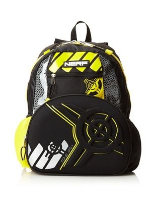 40% OFF Nerf Unisex-kids Backpack, Black/Yellow, One Size