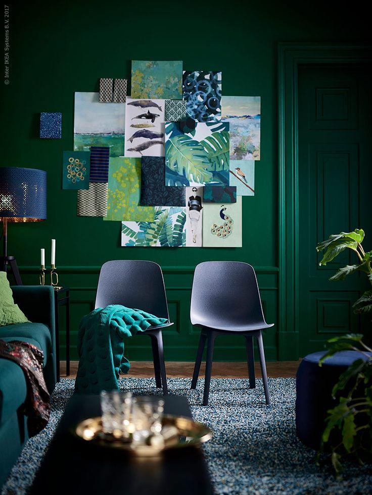 ODGER stol i återvunnen plast och träfiber är en av höstens stora nyheter, kommer i blått, brunt och natur och monteras helt utan skruvar i ett sömlöst uttryck.