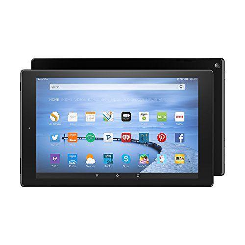 "Fire HD 10, 10.1"" HD Display, Wi-Fi, 16 GB - Includes Special Offers, Black Amazon http://www.amazon.com/dp/B00VKIY9RG/ref=cm_sw_r_pi_dp_qzuOwb1T4TQPW"