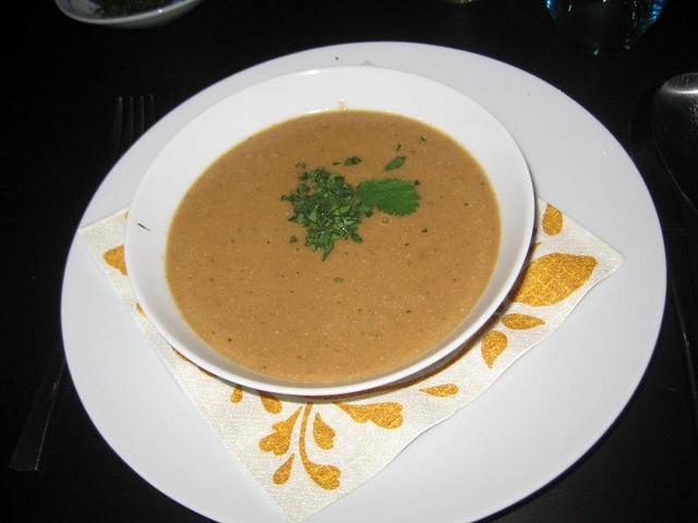Roasted eggplant & tahini moroccan soup by shashinjutsu  aka: how to finish that old tahini pot