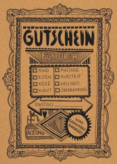 Gutscheine sind auch immer eine gute Idee:) ( besonders von Douglas, H&M oder generell von Galerien)