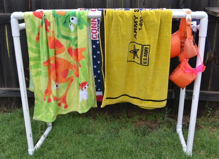 diy pvc furniture. diy how to build a pvc pool towel rack diy pvc furniture c