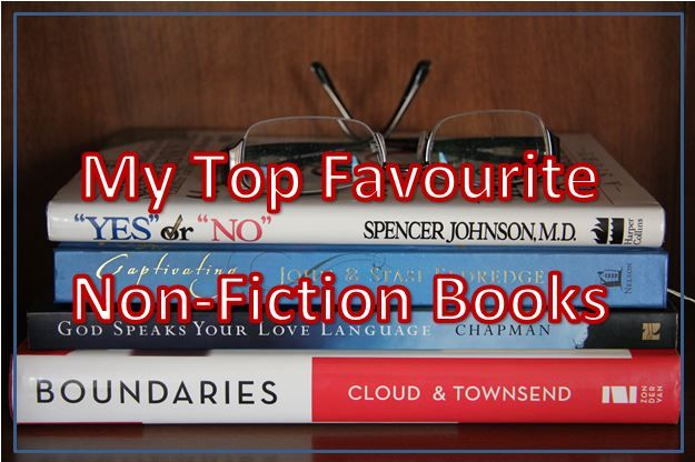 My Top Favourite Non-Fiction Books. https://joannagreen.ca/2017/10/28/my-top-favourite-non-fiction-books/