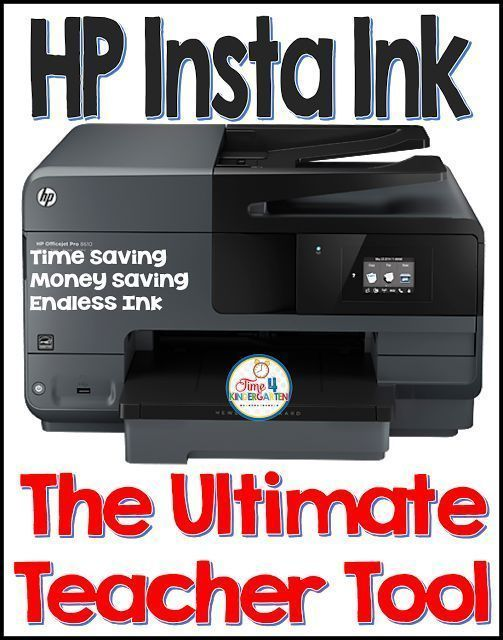 HP Insta Ink is the ultimate Teacher Tool- you will never run out of ink again, it saves you time, money and gives you endless ink at affordable prices.