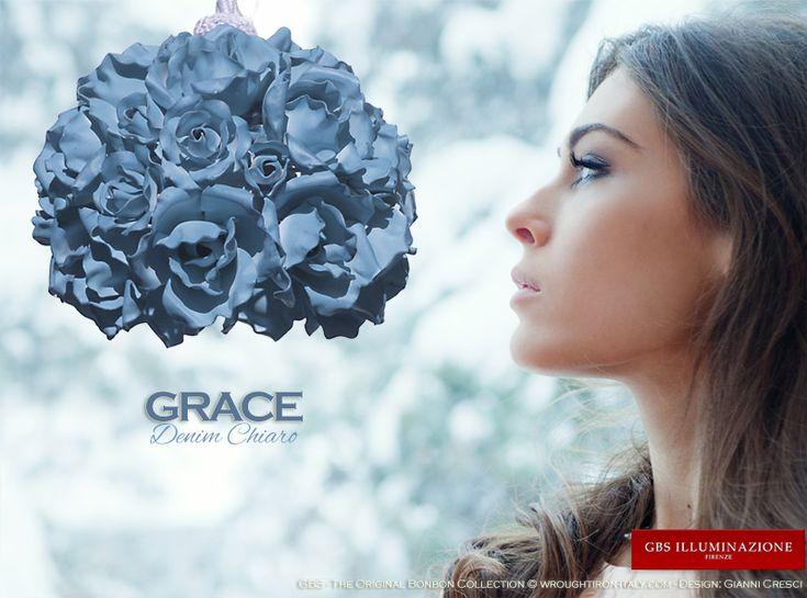Grace. One light pendant.