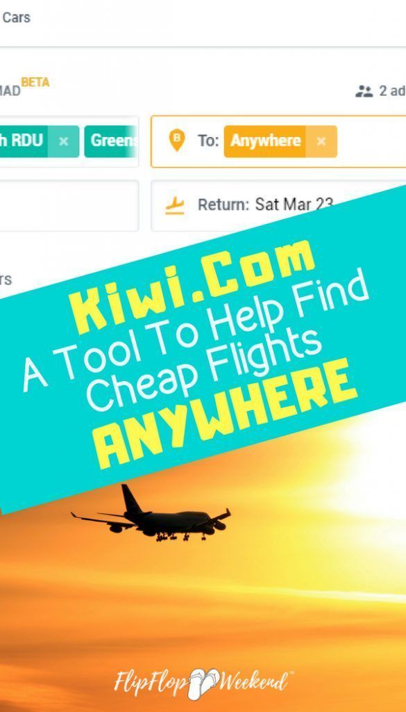 Kiwi Com Is An Online Travel Agency With A Free Tool To Help Find