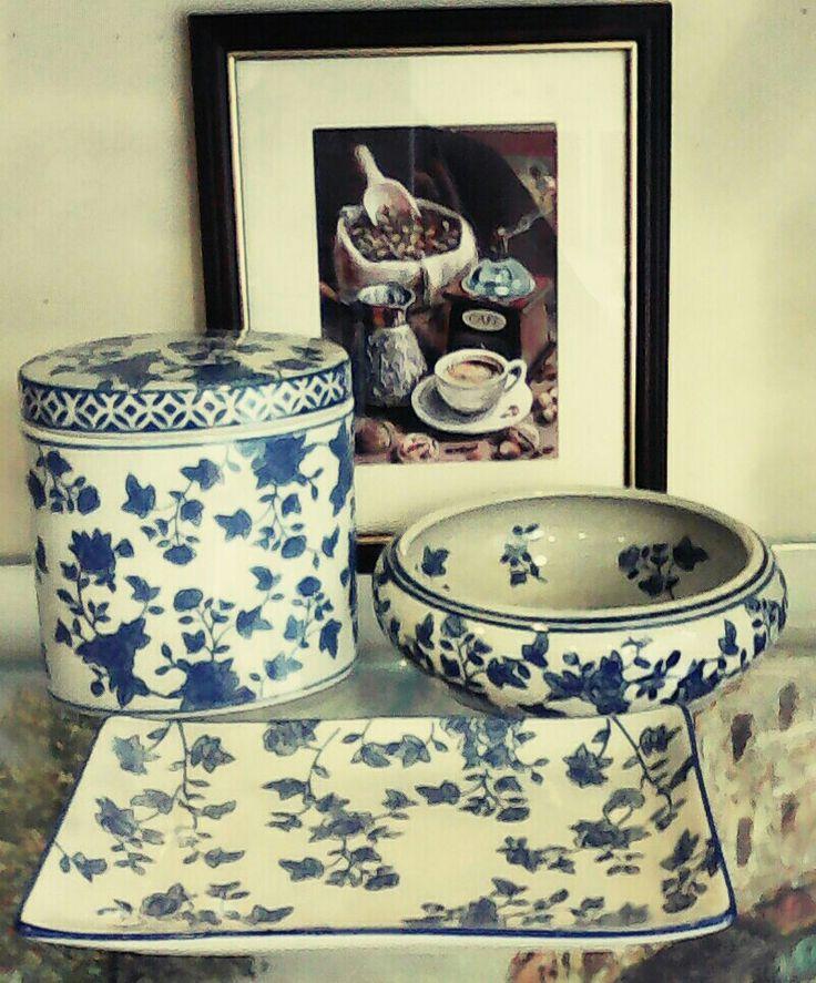 Αγάπη για το μπλε και το λευκό