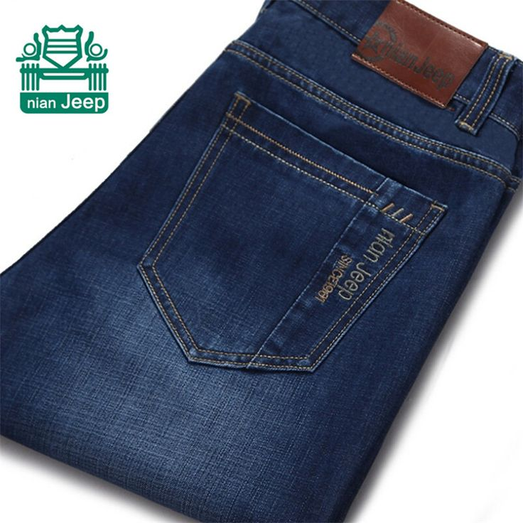 NianJeep 2015 mens jeans fashion jeans large sales of spring, summer, mens fashion brand thin new blue dress, mens trousers