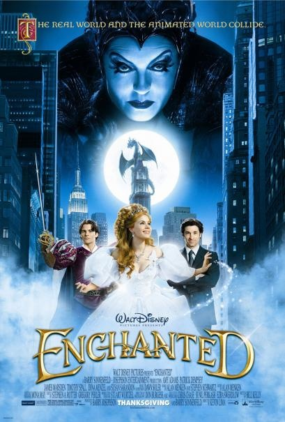 Enchanted.  Because I still believe in fairytales.