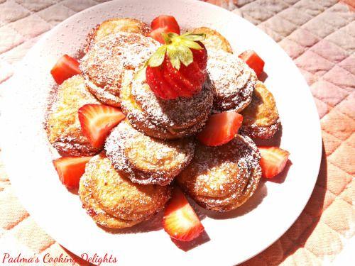 Padma's Cooking Delights:-Aebleskiver / Ebleskiver