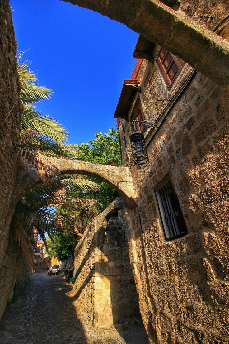 Rhodos old town