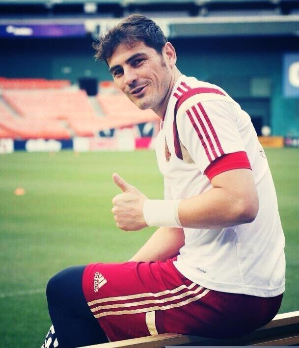 And the brawn, burly, husky hunk named Iker Casillas.   49 Reasons The Spanish World Cup Team Is Definitively The Hottest World Cup Team