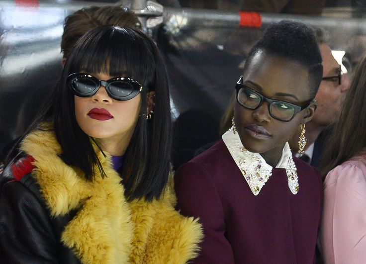 Rihanna Lupita Nyong'o Agree To a Twitter-Inspired Movie Starring Them