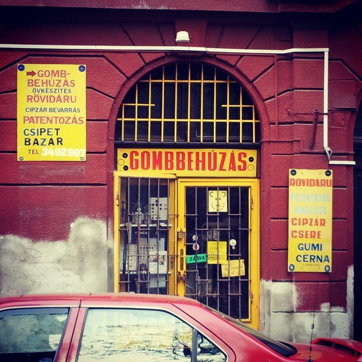 Button Shop - Budapest