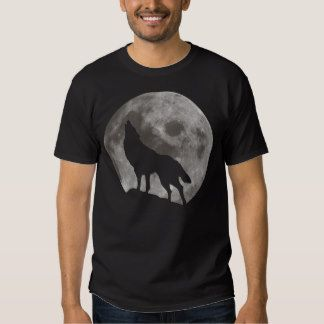 Huilende Wolf T-shirts