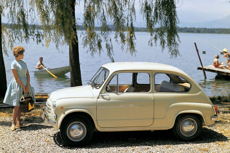Fiat 600---just like the one I learned to drive in when I was 14.
