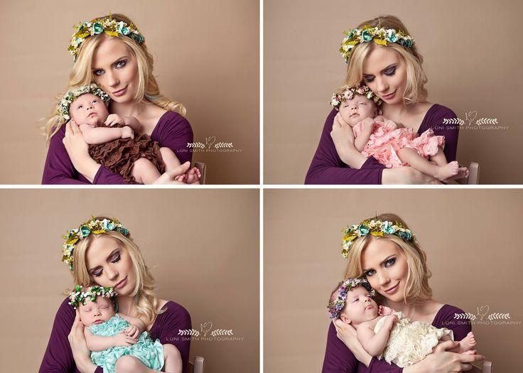 Loni Smith Photography - Utah whimsical newborn photography, Gardner quadruplets, quad squad, multiples