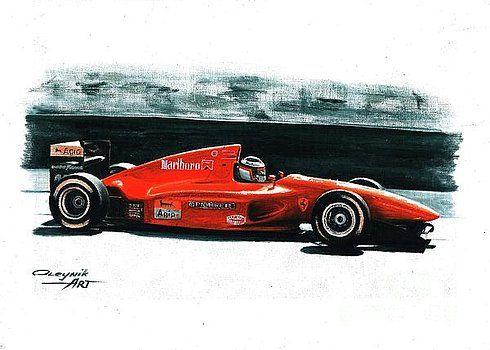 1994  Ferrari 412T1 by Artem Oleynik