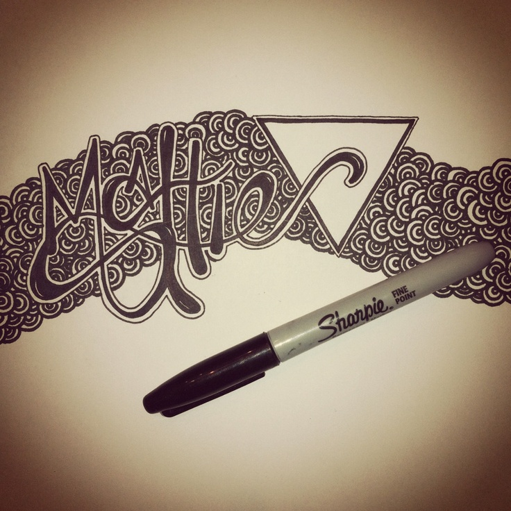 #GraphicDesign #Typography #Sharpie #Art #Design #Doodle