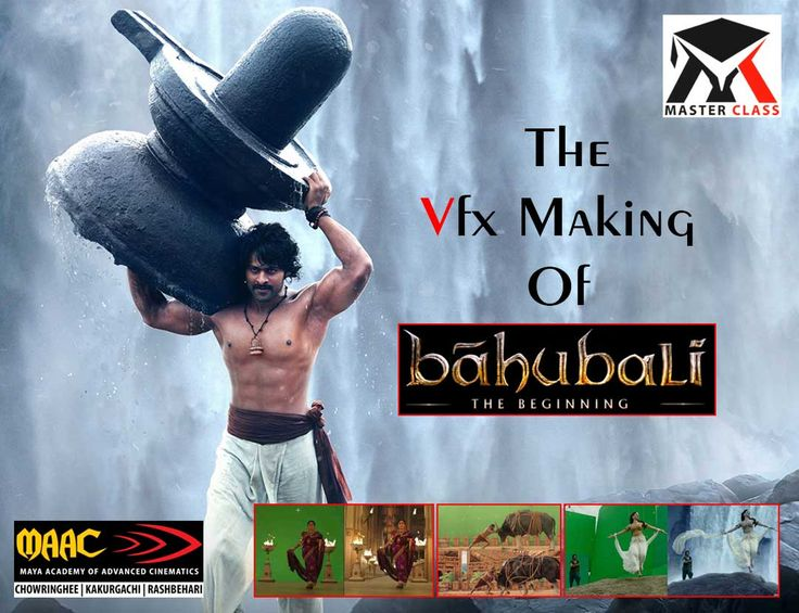 """Free Master Class on The VFX Making of """"Bahubali"""""""