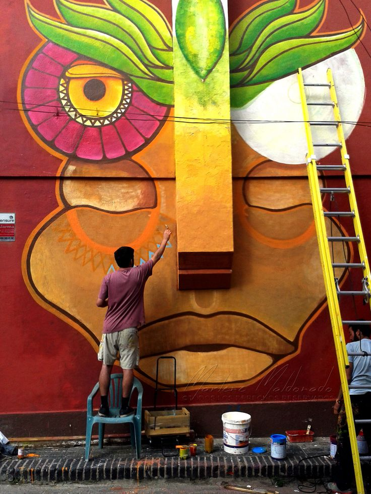 https://flic.kr/p/sscyuh | Mural | Cerro Alegre - Valparaíso, Chile