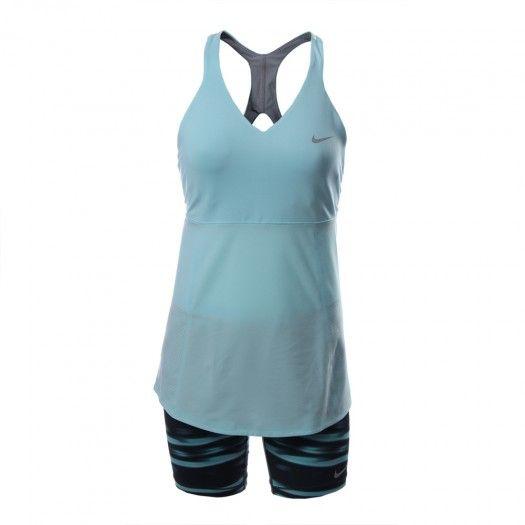 El vestido de tenis para mujer Nike Premier Maria Tunic cuenta con la tecnología Dri-Fit diseñada para absorber el sudor y mantenerte seca y cómoda durante los partidos o entrenamientos.