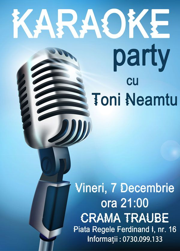 Karaoke Party la Crama Traube