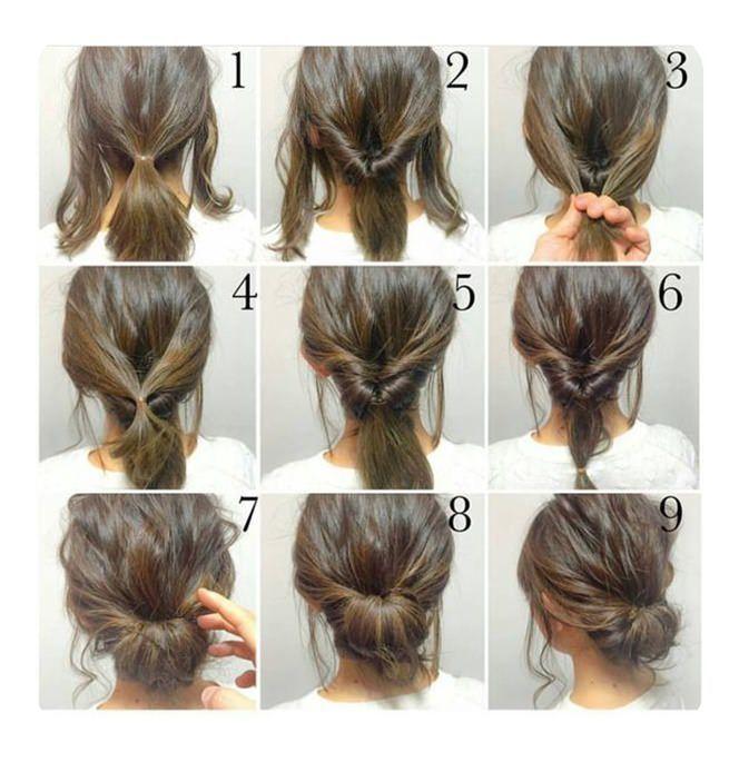 87 Einfache Low Bun-Frisuren und ihre schrittweisen Anleitungen