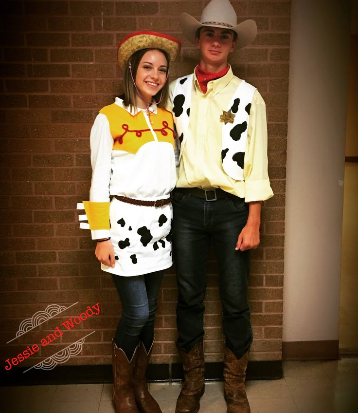 Toy Story's Woody and Jessy