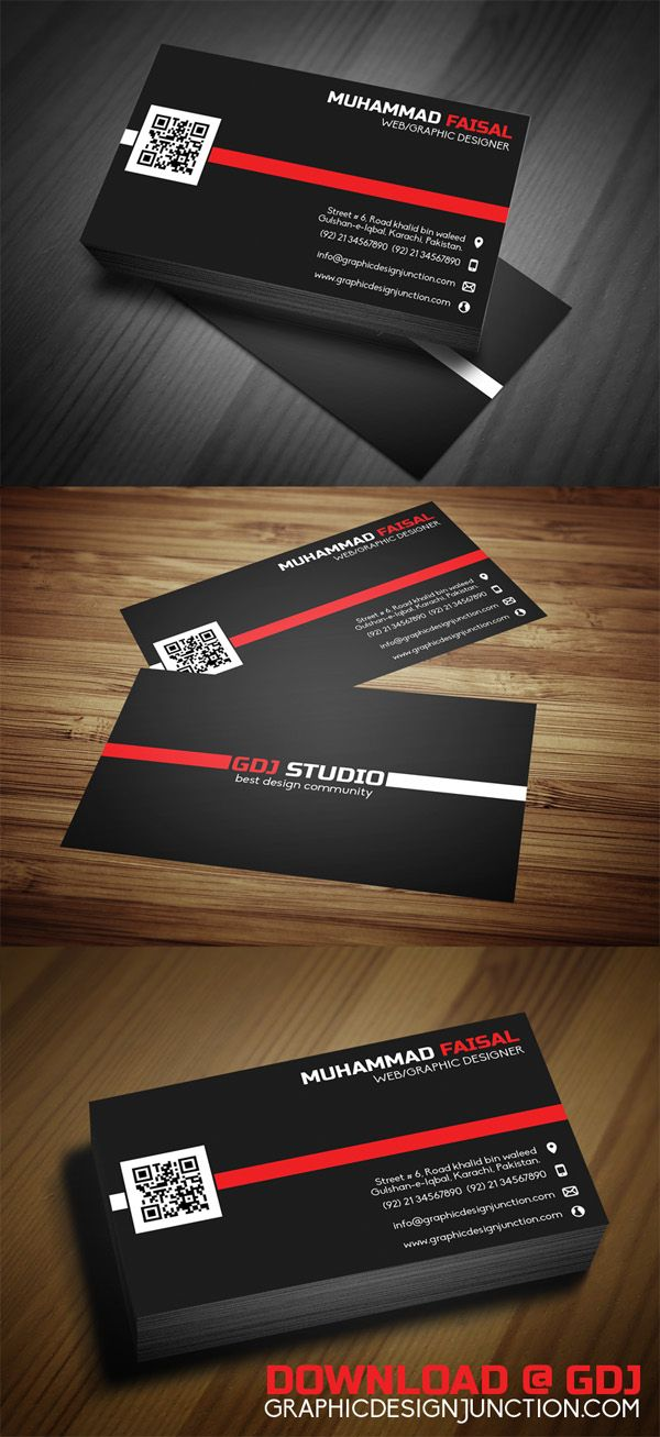 PSD Business Card Preview