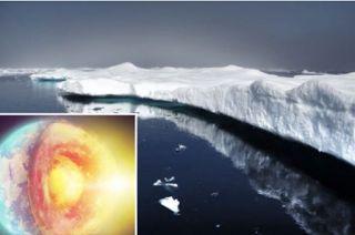 Planet Stars: Θερμότητα από τα έγκατα της Γης λιώνει τους πάγους...