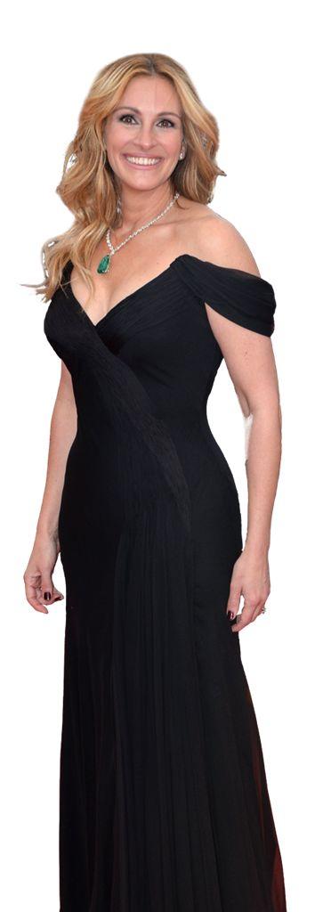 Julia Roberts, de mooiste vrouw ter wereld, net geen vijftig.