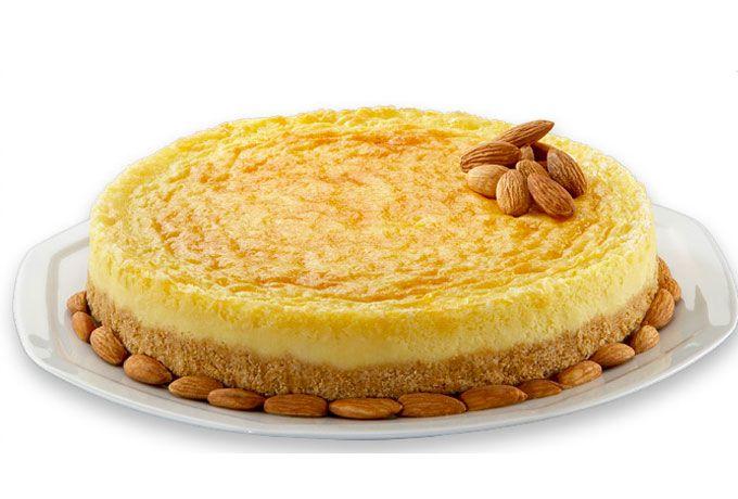 Cheesecake de elote y rompope