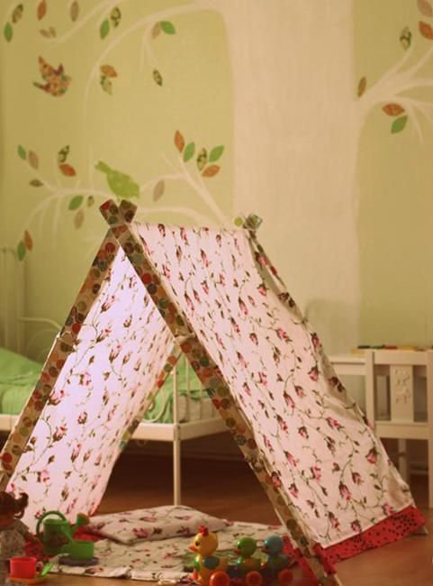 37 best images about themes playful on pinterest childs bedroom playroom ideas and vintage - Decorating a canopy tent ...