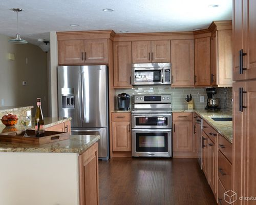 Maple Kitchen Cabinets Ideas, Pictures, Remodel And Decor