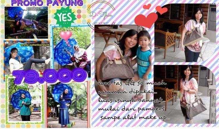 Bunda Insyira's Story: Payung & Tas Giordani